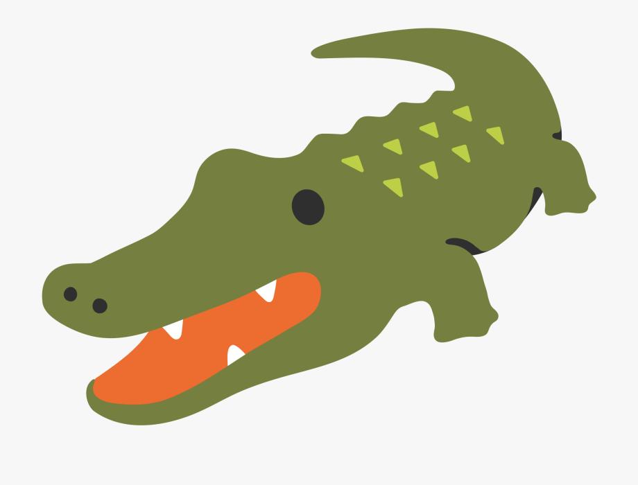 Alligator Clipart Emoji.