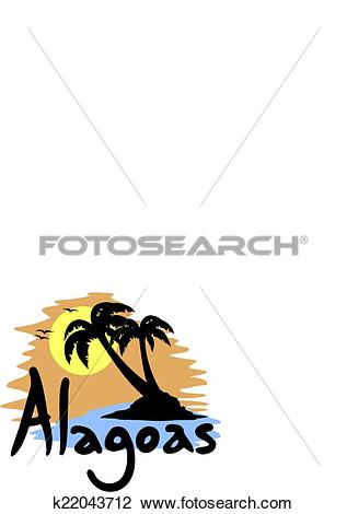 Clipart of Alagoas palm k22043712.