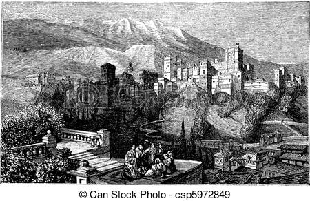 Alhambra Illustrations and Clip Art. 135 Alhambra royalty free.
