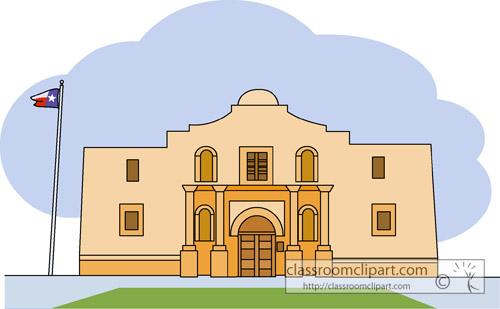 Alamo Cliparts 5.