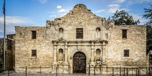 San Antonio Alamo Clipart.