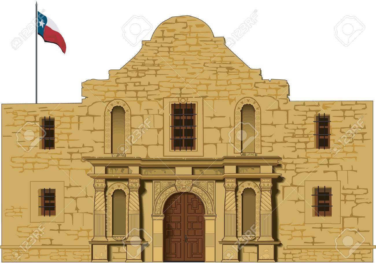 Alamo Illustration.