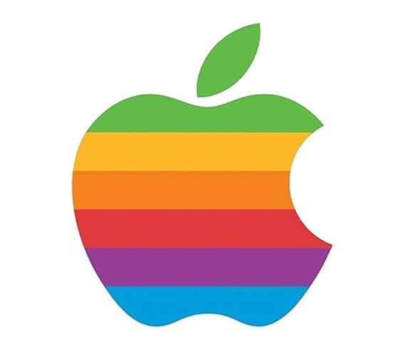 What\'s the story behind Apple\'s half eaten apple fruit logo.