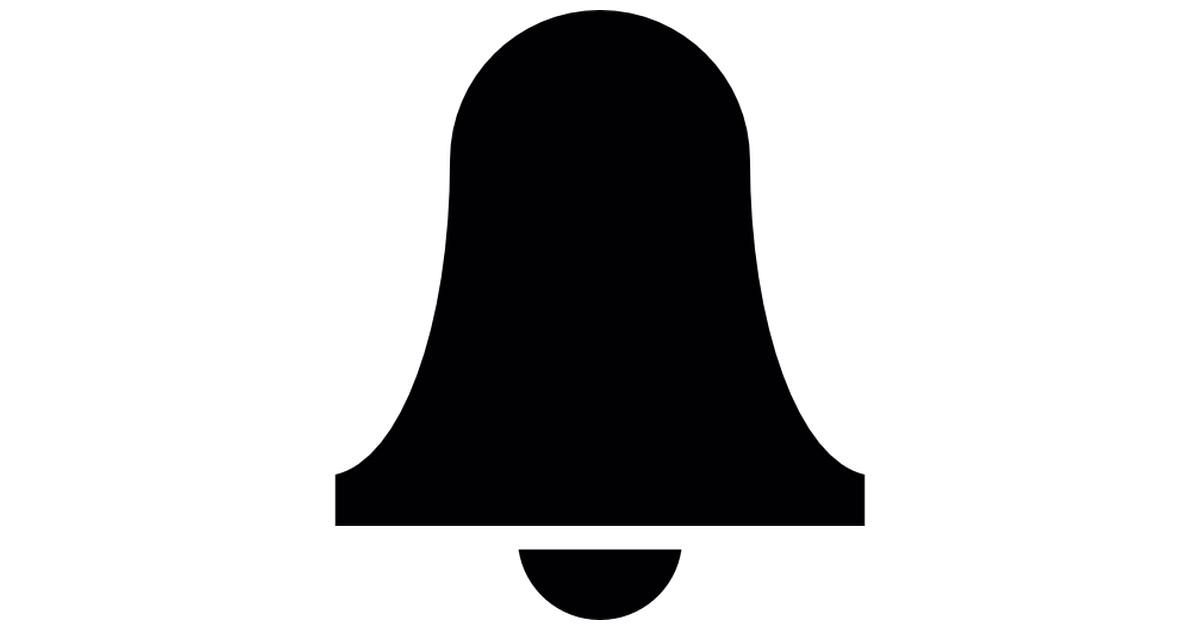 Alarm bell symbol.
