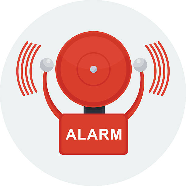 Best Fire Alarm Illustrations, Royalty.