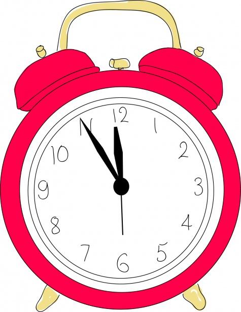 Alarm Clock Clipart Free Stock Photo.