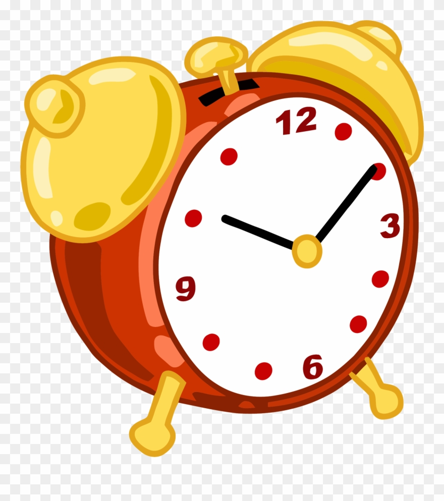 Cartoon Alarm Clock Clipart Png.