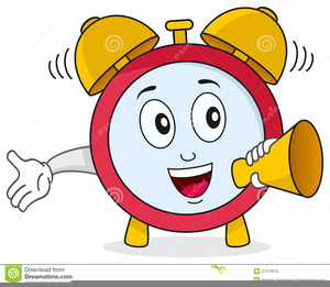 Animated Alarm Clock Clipart.