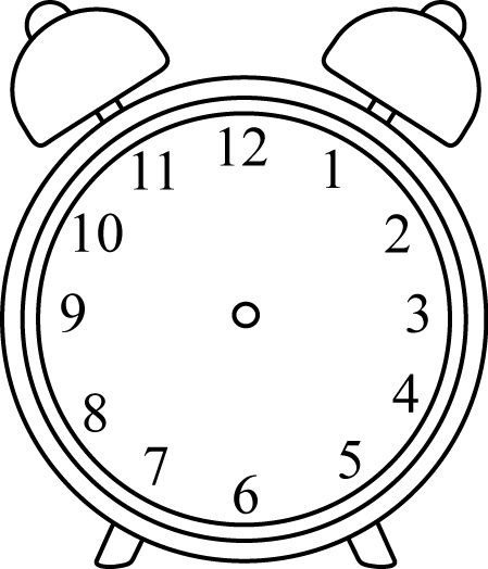 Image Freeuse Black And White Clock Clipart White.