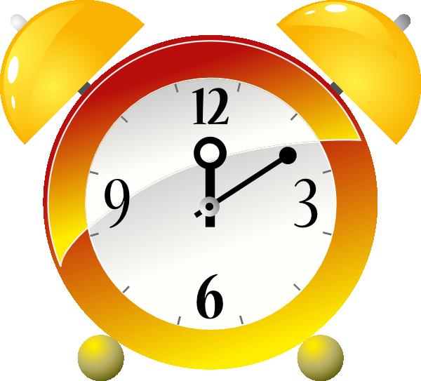 Animated Alarm Clock Clipart.