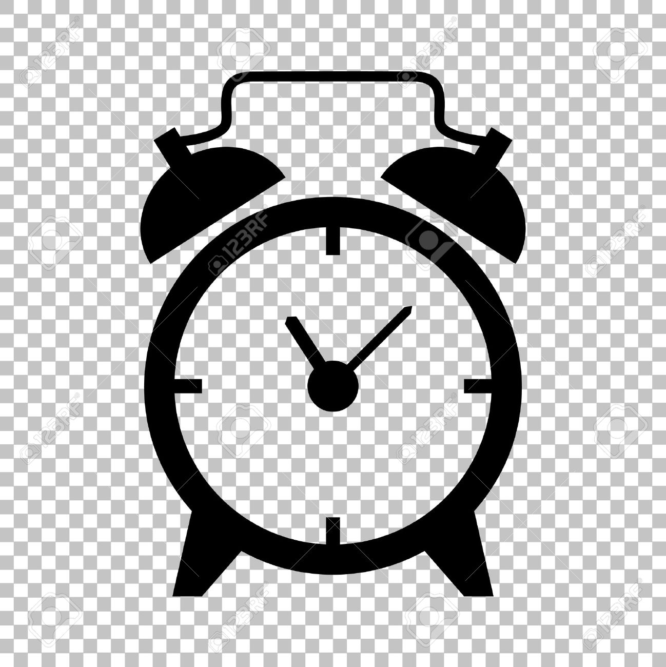 Clock Clipart Transparent Background.