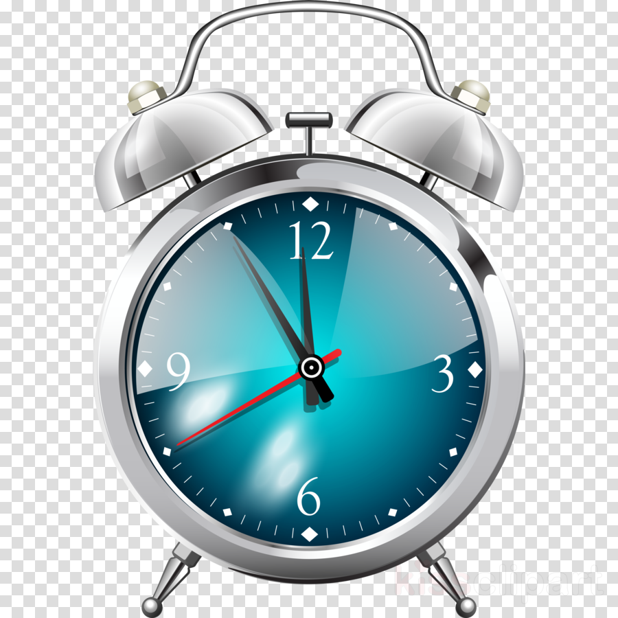 analog watch clock alarm clock blue watch clipart.