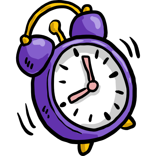 Alarm clock Tool Icon.