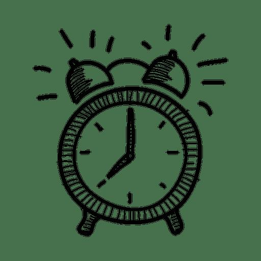Alarm Clocks Drawing Aiguille.