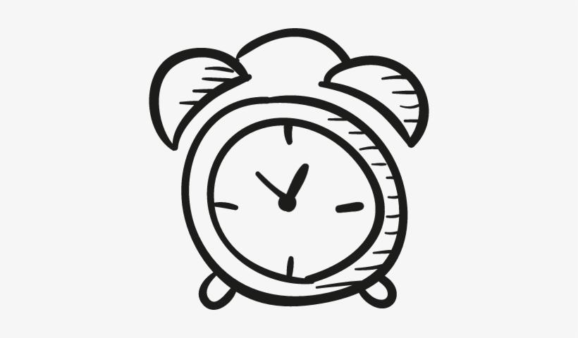 Draw Alarm Clock Vector.