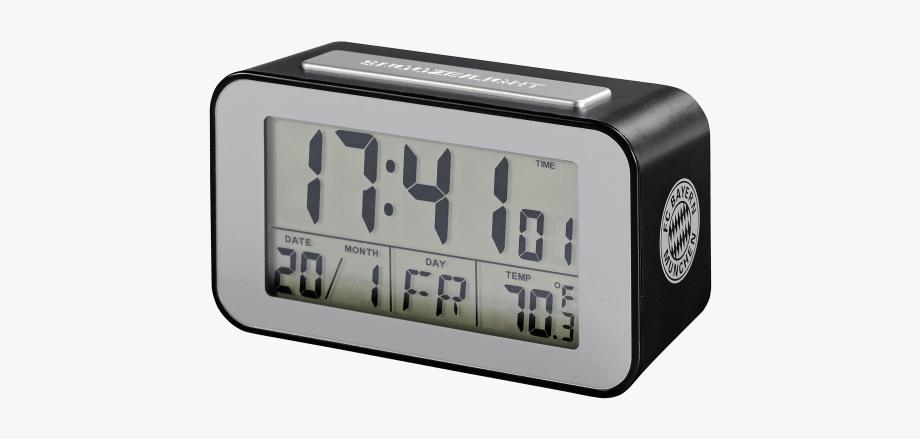 Digital Alarm Clock Png #299841.
