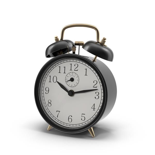Vintage Black Alarm Clock PNG Images & PSDs for Download.