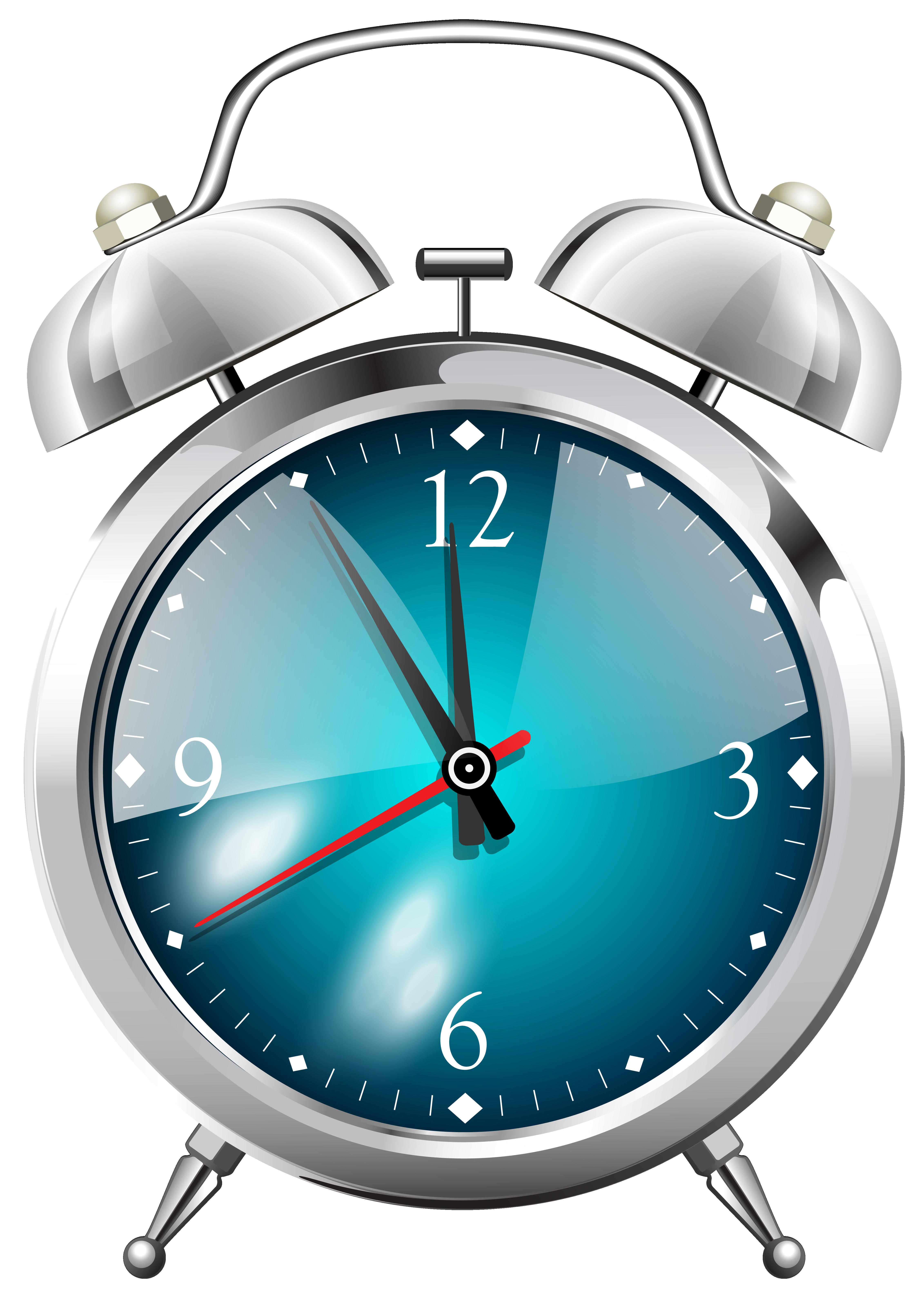 Alarm Clock PNG Clip Art.