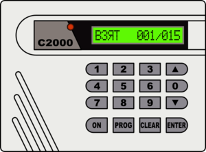 Alarm System Clipart.