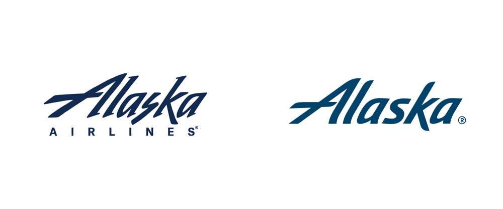 Brand New: New Logo, Identity, and Livery for Alaska Airlines by.