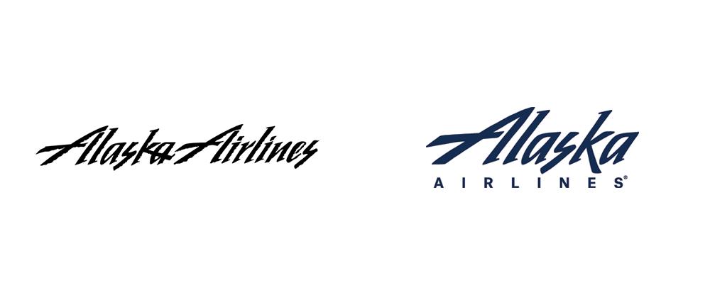 Brand New: New Logo for Alaska Airlines.