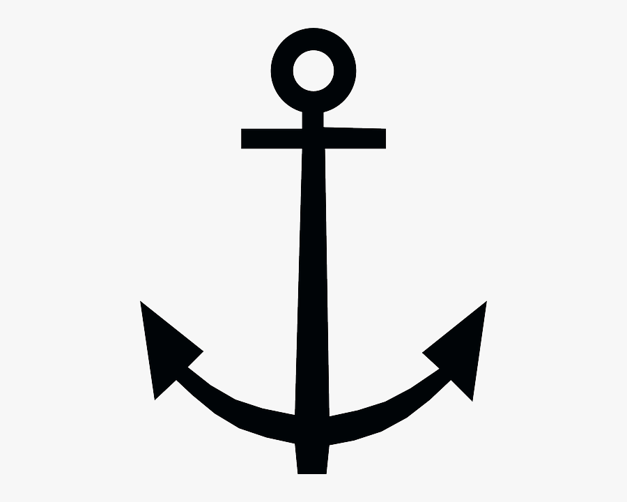 Black And White Anchor Free Vector Graphic Anchor Anchorage.