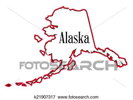 Alaska Clip Art.