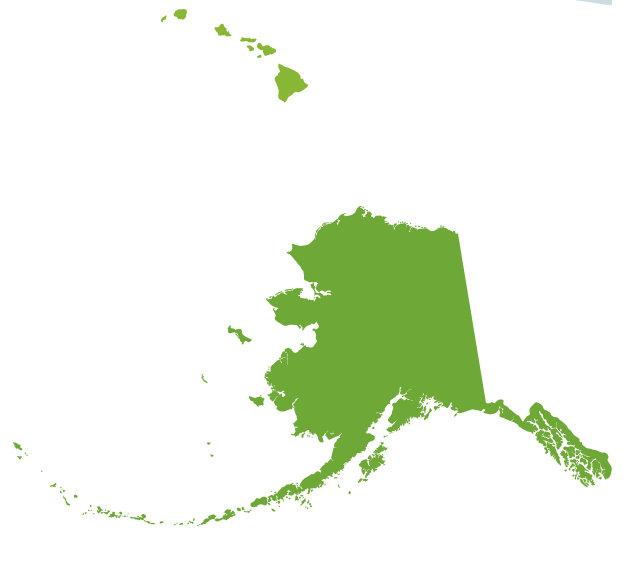 Free clip art alaska map.