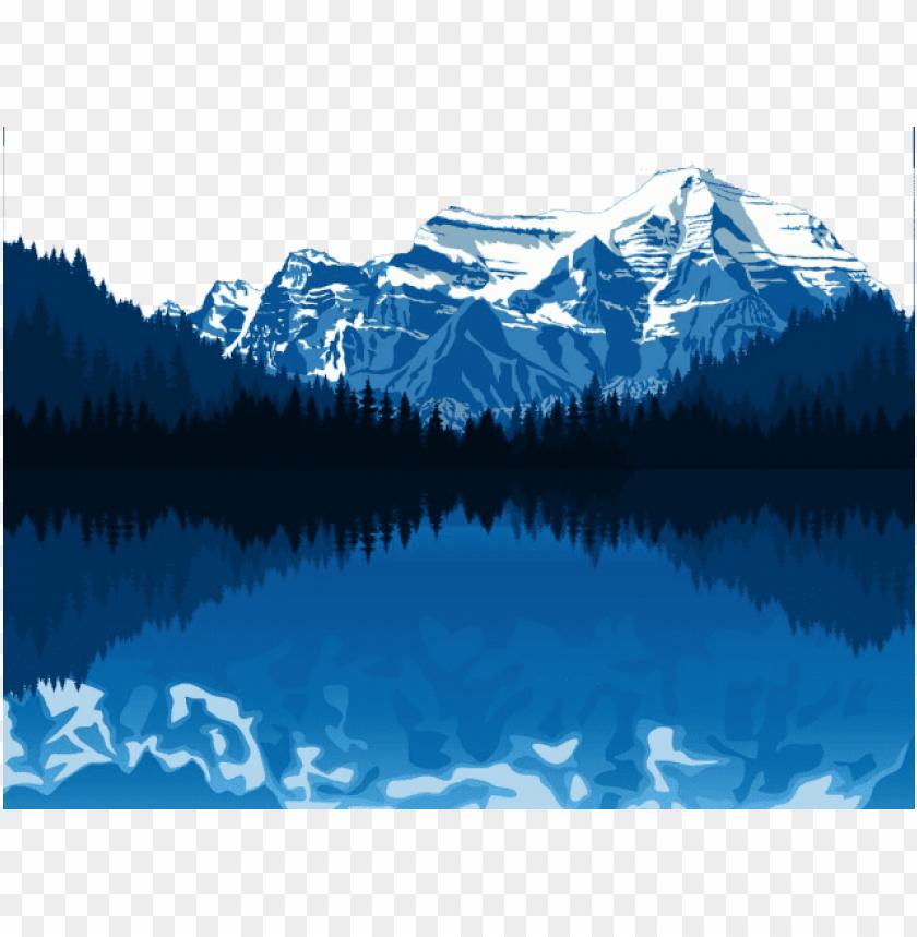 alaska clipart snowy mountains.