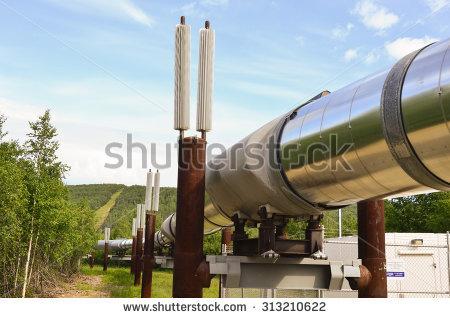 Alaskan Pipeline Stock Photos, Royalty.