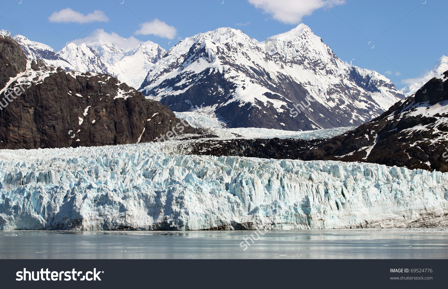 Scenery Of Glacier Bay In Alaska Stock Photo 69524776 : Shutterstock.