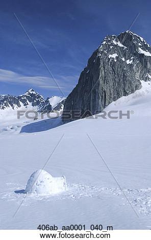Alaska scenery clipart.