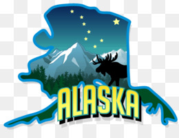 Alaska Text png download.