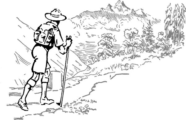 Camping Hiking Clip Art Download