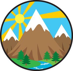 Rocky Mountain Clipart.