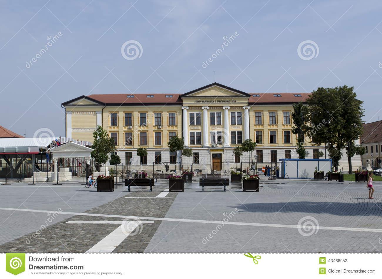 Alba Iulia University, Romania Editorial Photography.
