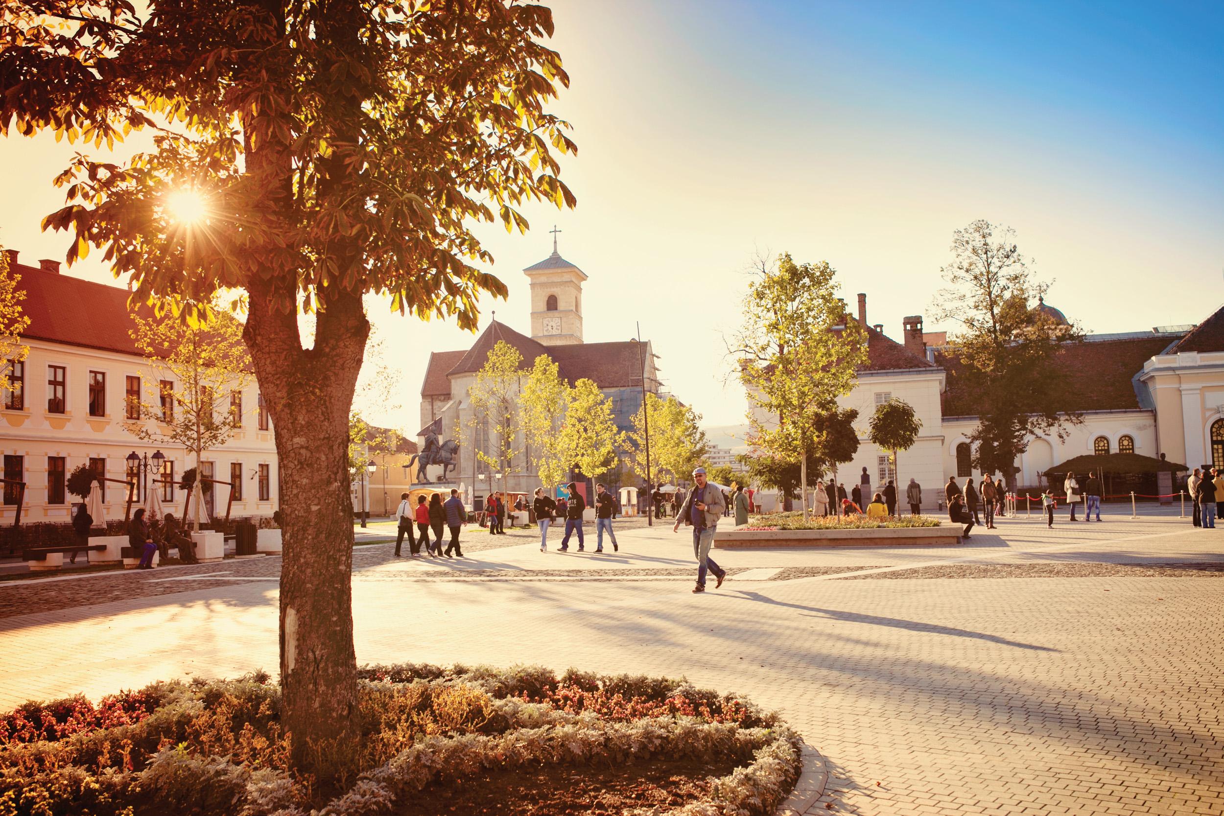 Visit Alba Iulia.