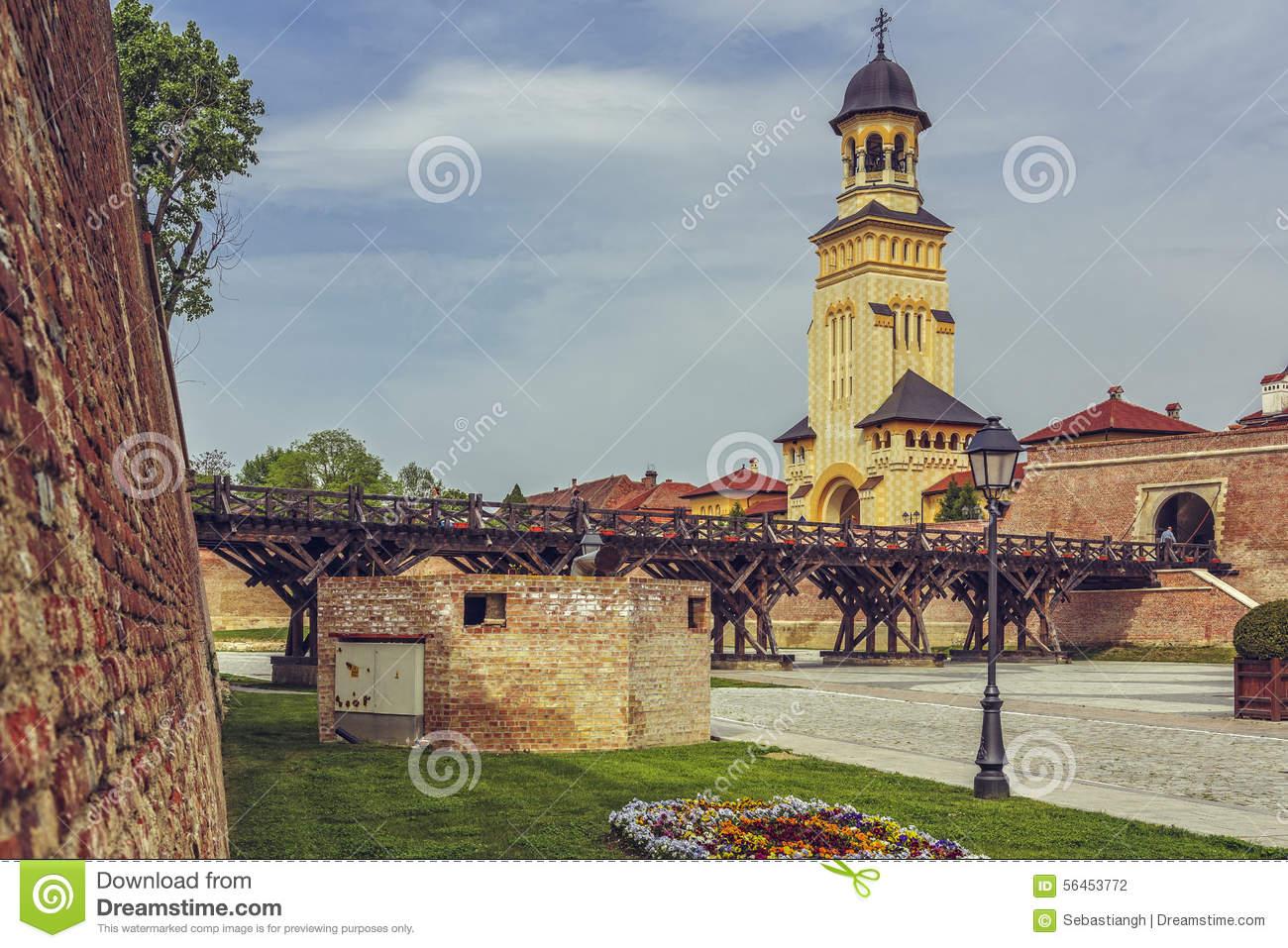 Alba Carolina Fortress, Alba Iulia Editorial Photography.