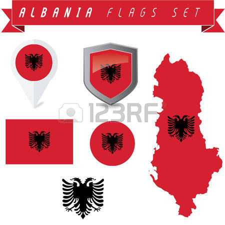 701 Albania Banner Cliparts, Stock Vector And Royalty Free Albania.