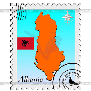 with the image maps of Albania.