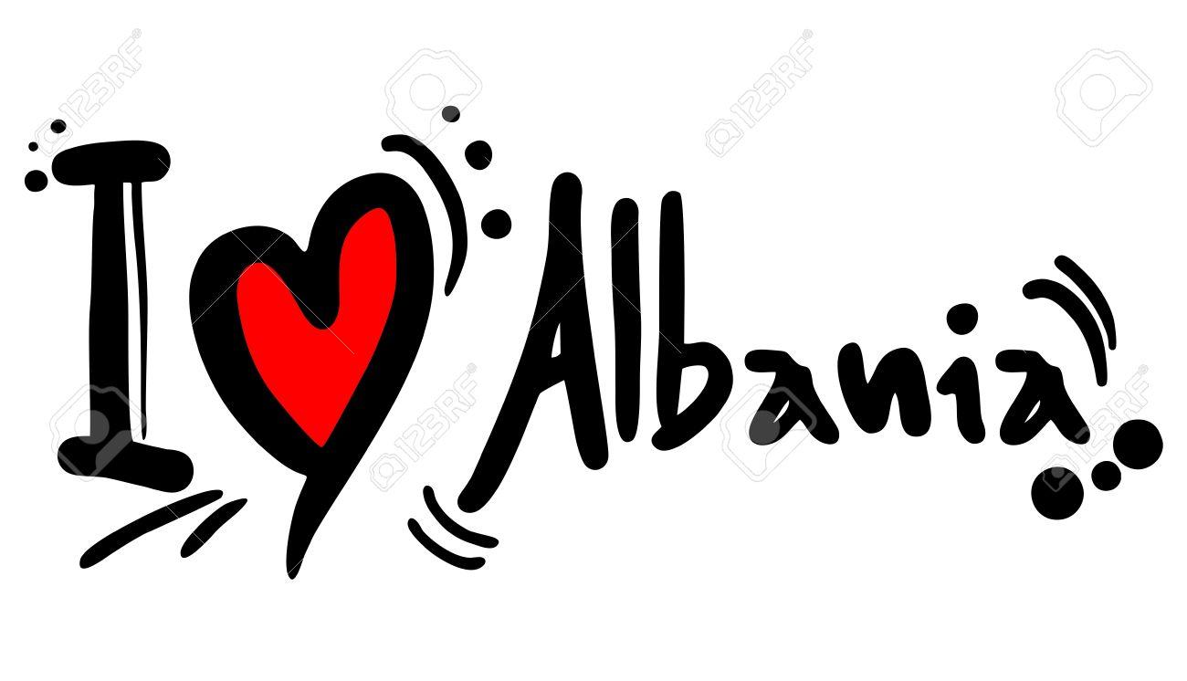 I love albania clipart.