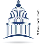 Capitol building Vector Clipart Royalty Free. 2,056 Capitol.