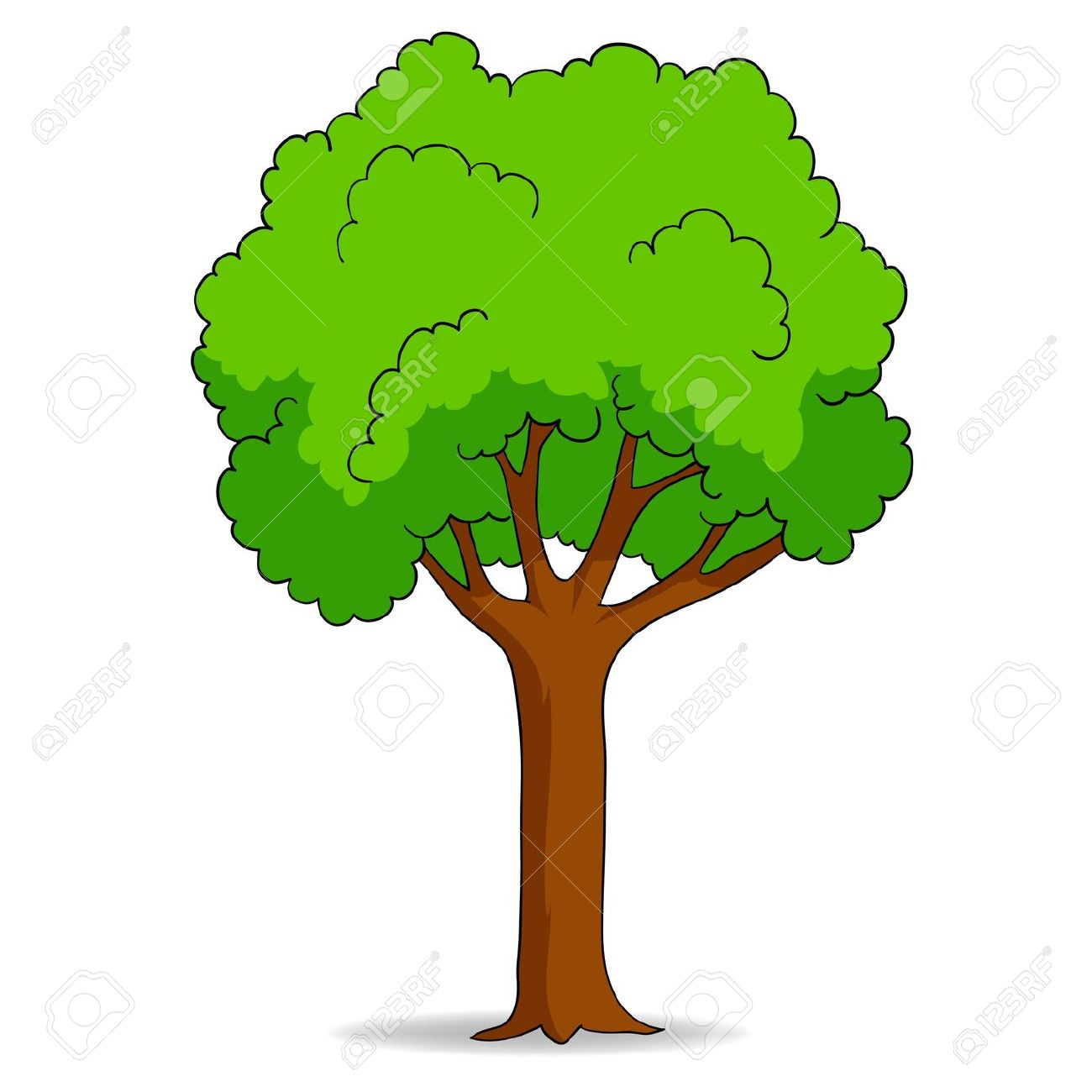 One tree clipart clipground