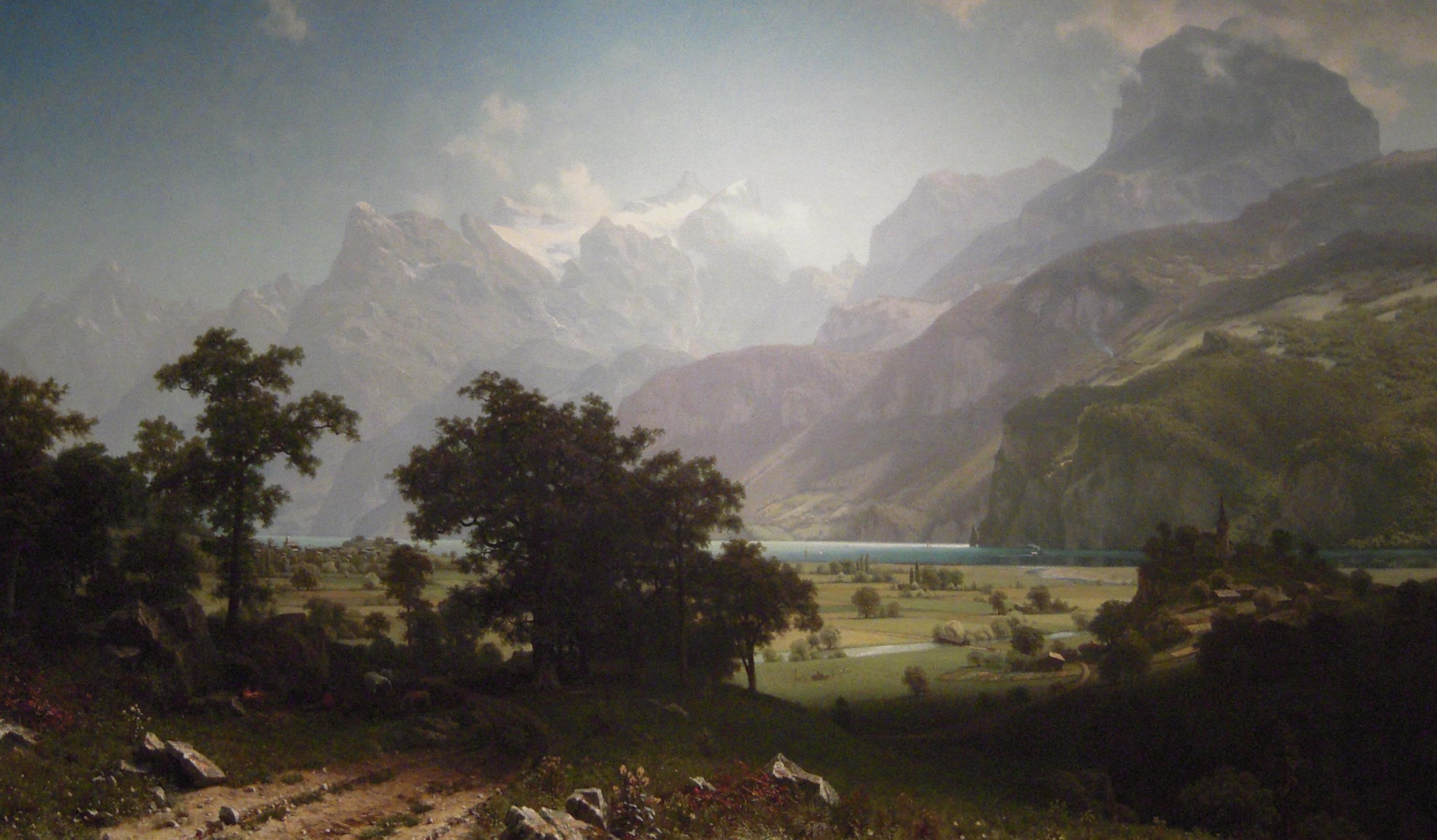 Albert bierstadt clipart.