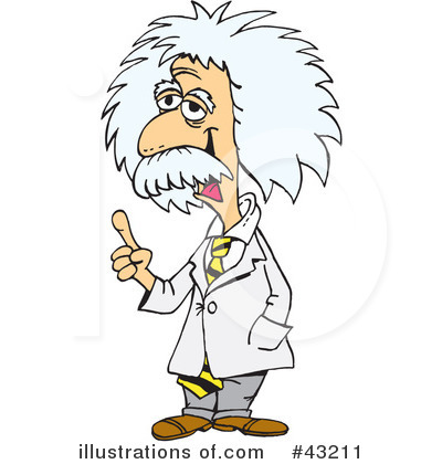 Albert Einstein Clipart #43211.