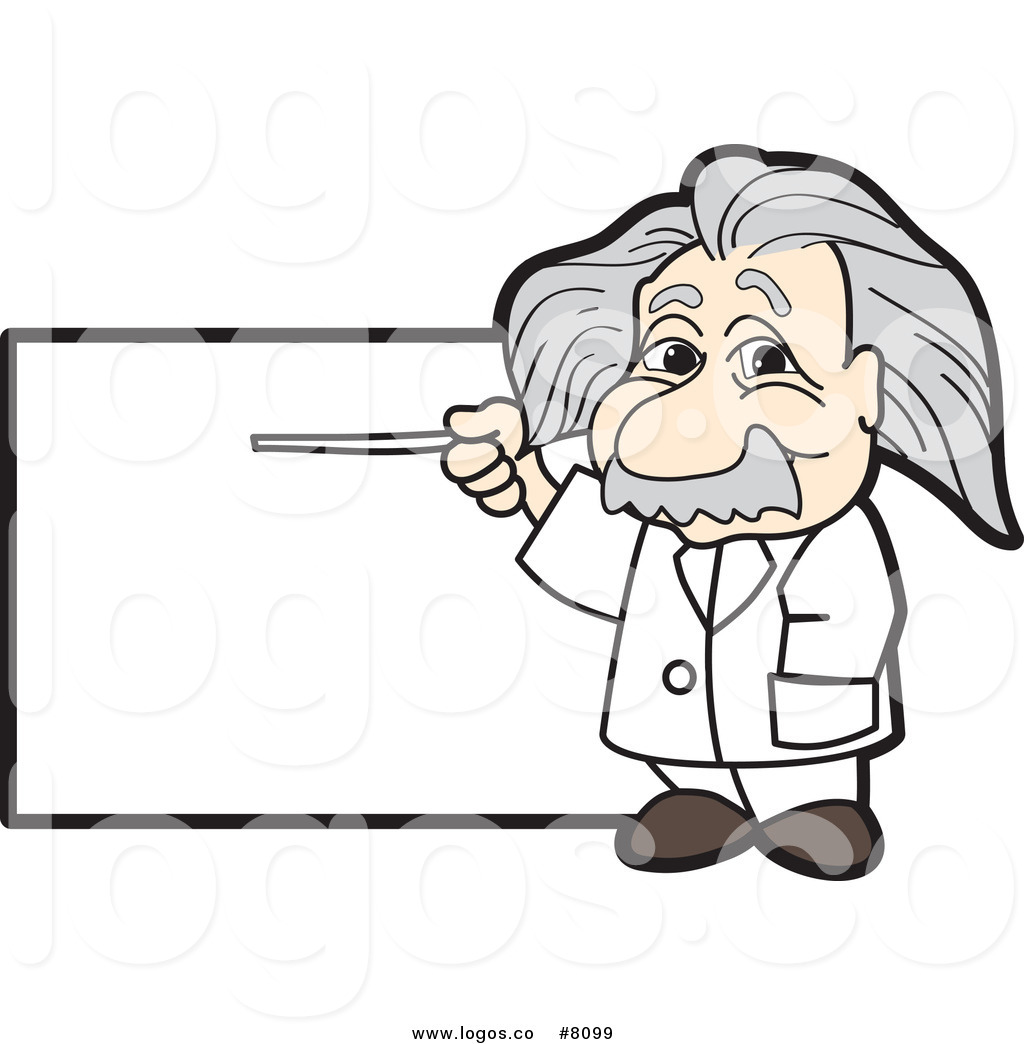 Clipart albert einstein cartoon.
