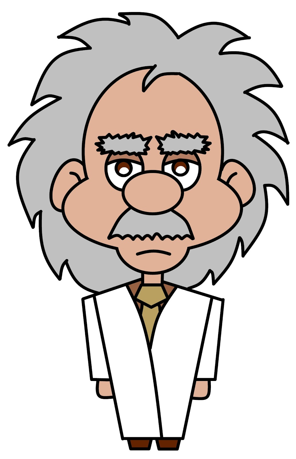 Albert Einstein Cartoon.