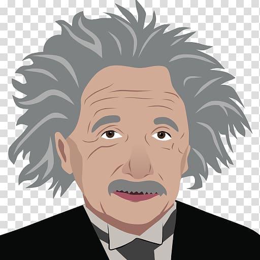 Albert Einstein Computer Icons , Einstein Hauir transparent.