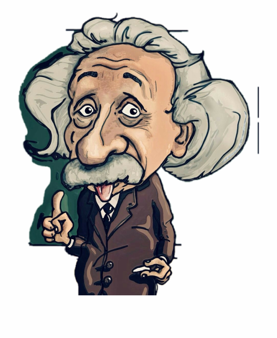 Free Albert Einstein Transparent, Download Free Clip Art.