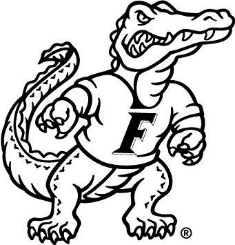 Amazon.com: 6 Inch Albert Gator Logo Decal UF University of.